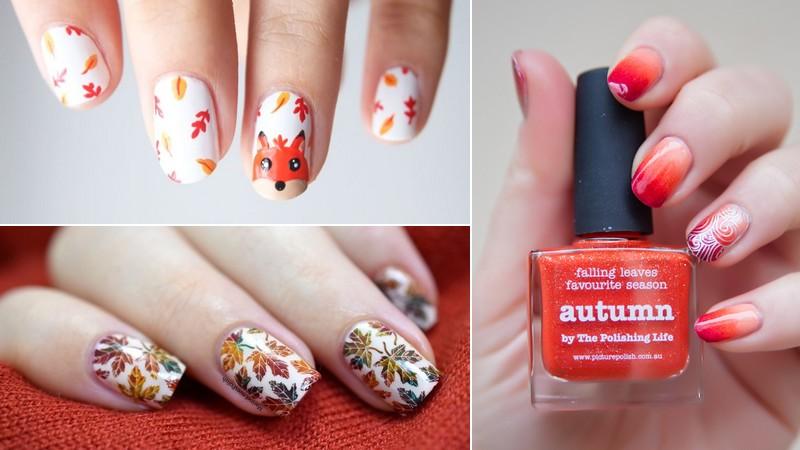 nail arts automne