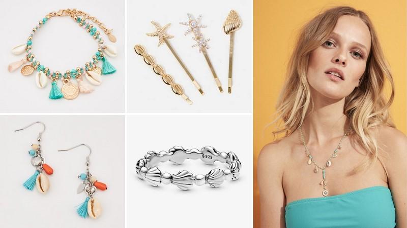La sélection bijoux de l'été : tendance plage et coquillages
