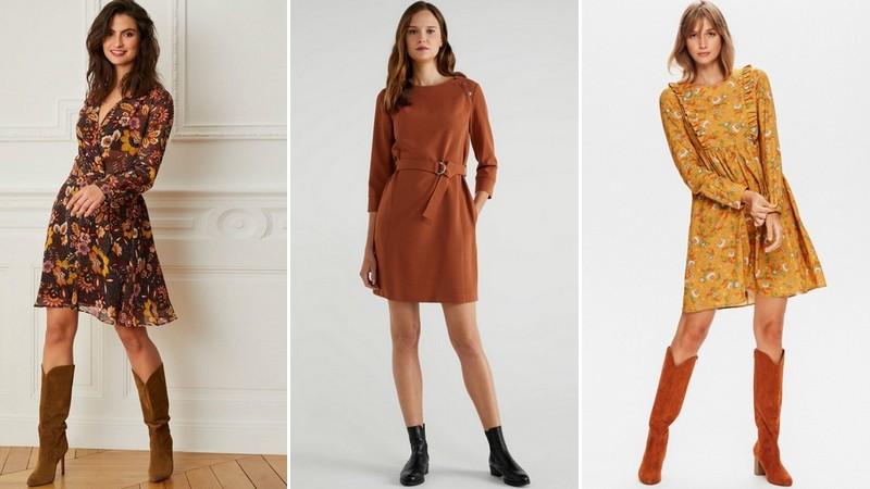 robes d'automne