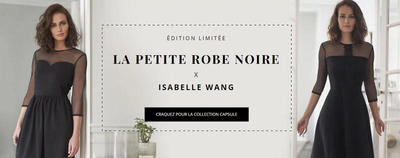 La petite robe noire Isabelle Wang