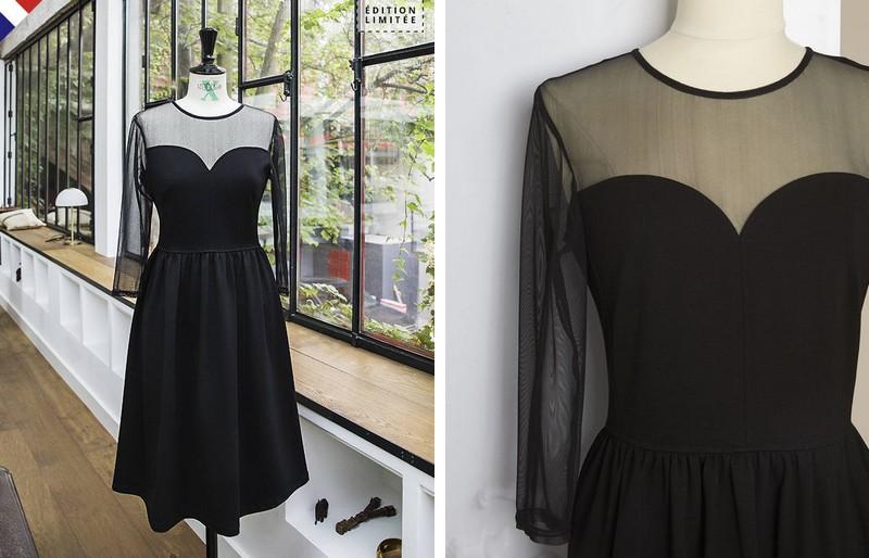 robe noire 123