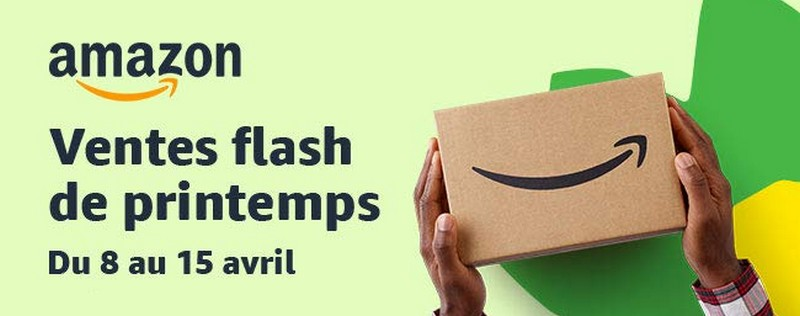 Ventes flash de printemps Amazon