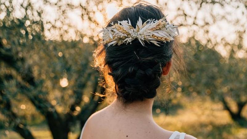 fleurs pour cheveux