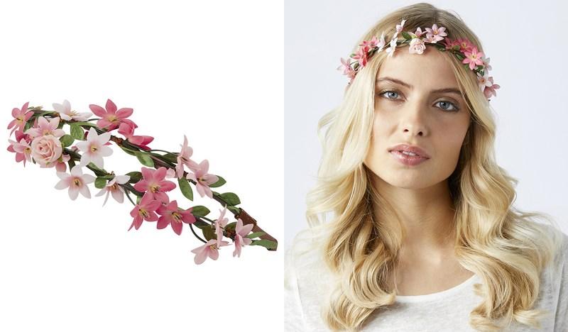 bandeau fleurs