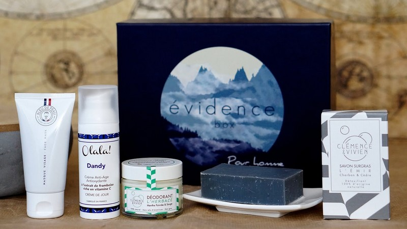 Box Evidence pour homme