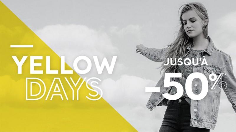 Les Yellow Days Cache Cache : jusqu'à -50%
