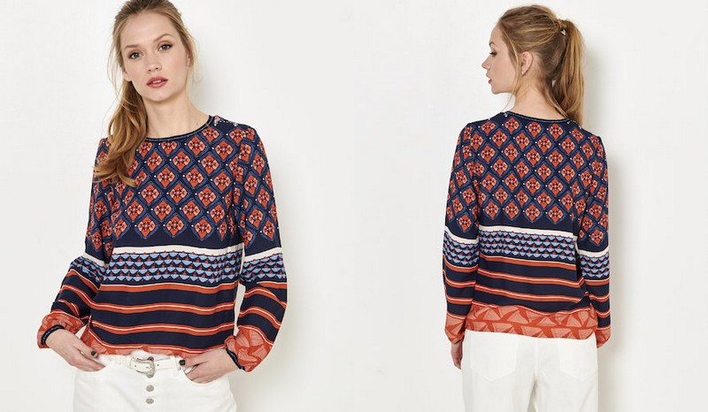 blouse Camaïeu