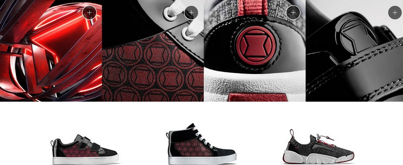 chaussures Black Widow