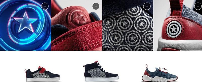 chaussures Captain America