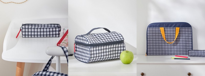 cartable vichy