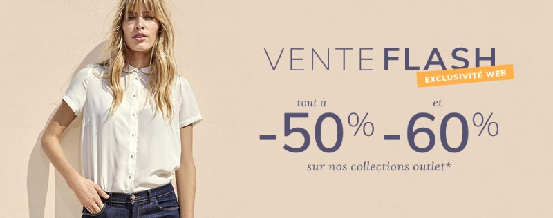 Vente flash Cyrillus Outlet : 50% de réduction