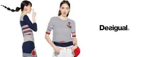 Nouvelle collection Desigual Inspiration Sailor
