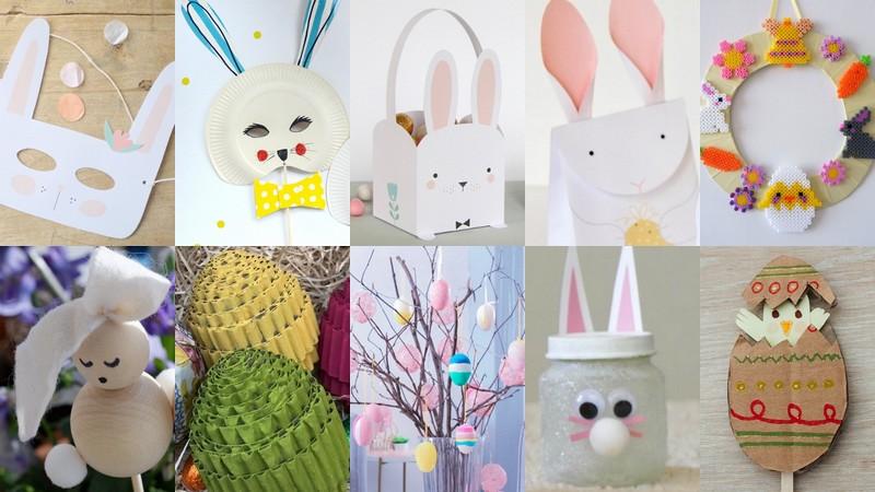 10 DIY faciles et sympas pour Pâques à faire avec les enfants