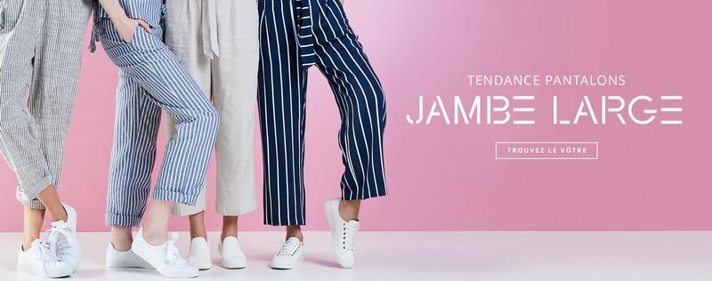 pantalons larges esprit