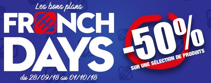 Les French Days Freegun : 50% de réduction