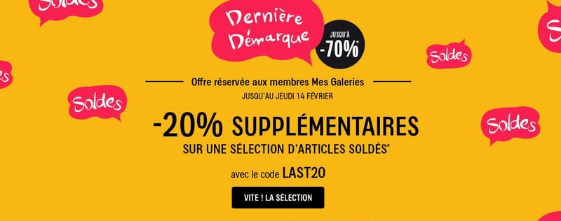 soldes Galeries Layafette