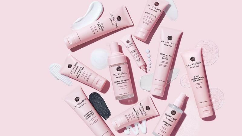 Glossybox Skincare : la nouvelle ligne de cosmétiques by Glossybox