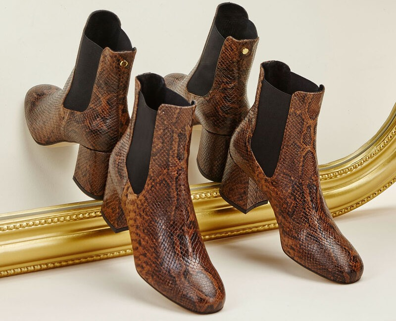 bottines python Cosmoparis