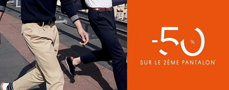 Promo pantalons Jules