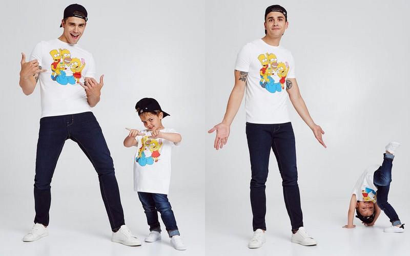 T-shirt Simpson