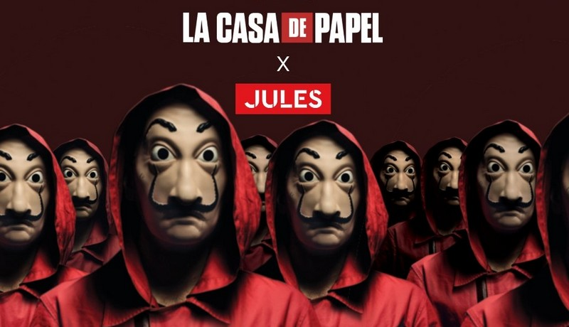 Jules x La Casa de Papel : la collection explosive !