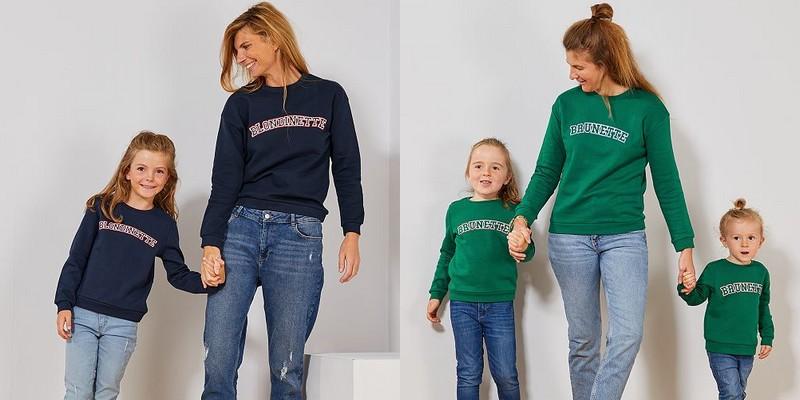 T-shirt blondinette