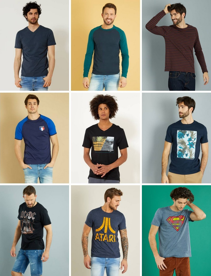 Promo T-shirts homme
