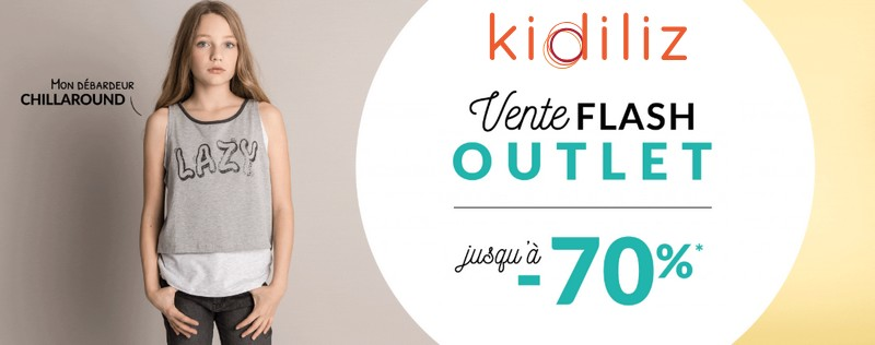 Vente flash outlet Kidiliz