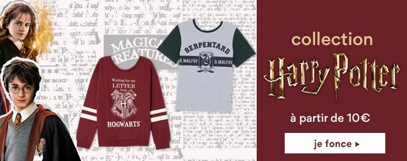 Collection Harry Potter La Halle