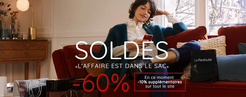 Soldes La Redoute hiver 2019