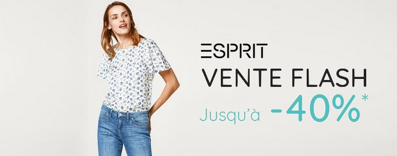 vente flash Esprit