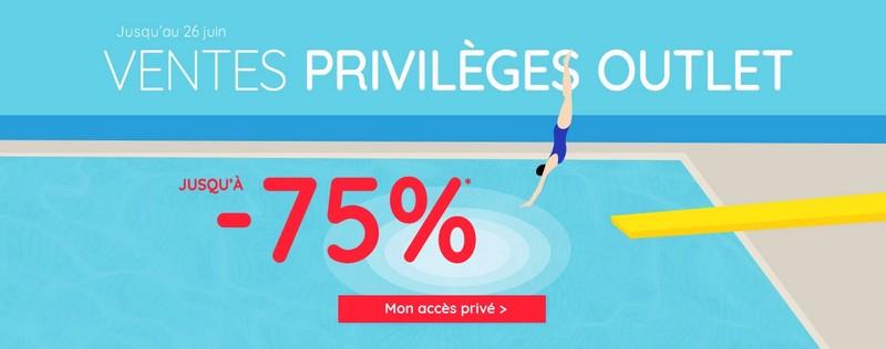 Ventes privilèges outlet La Redoute
