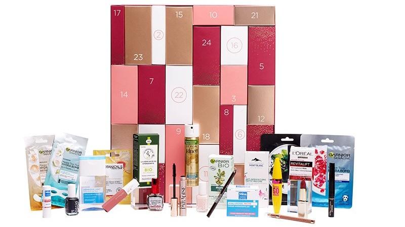 calendrier de l'Avent multi marques 2020 L'Oréal