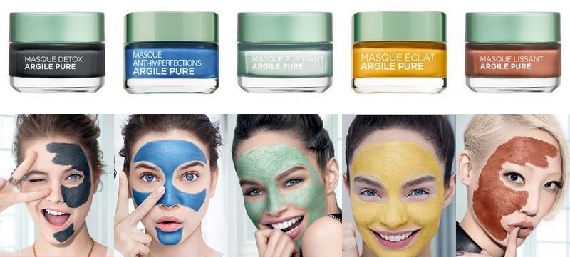 masques L'Oréal