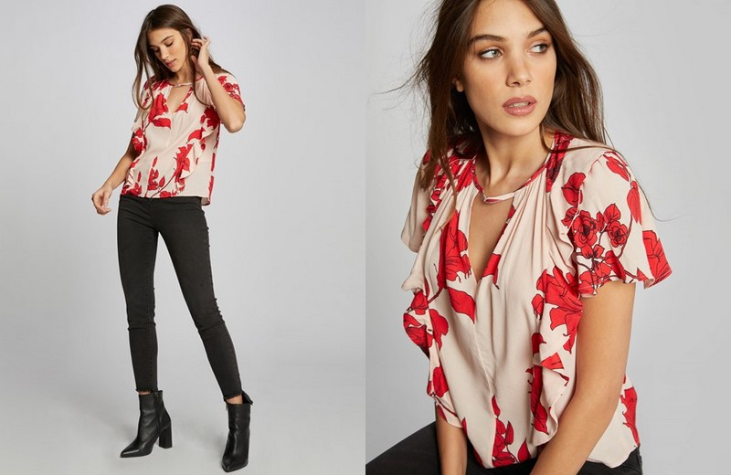 blouse Morgan