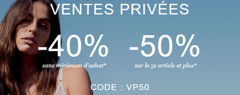 Ventes privées Orcanta lingerie : 40% de réduction