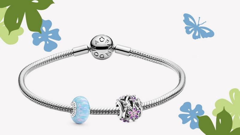 offre Pandora bracelet + 2 charms