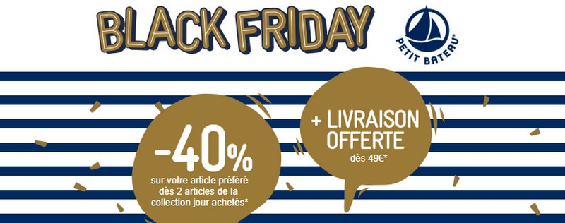 Black Friday Petit Bateau