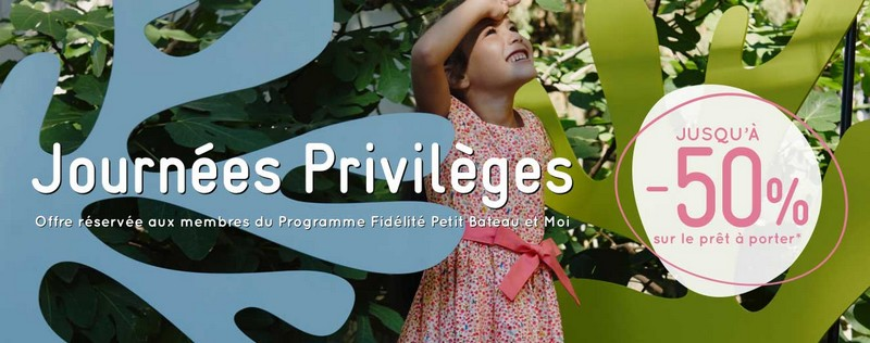 Journées Privilèges Petit Bateau