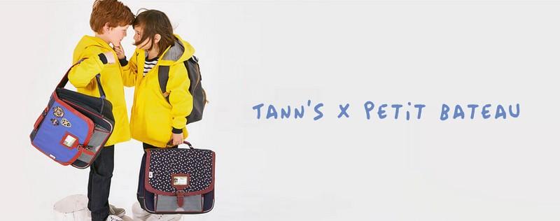 Tann's x Petit Bateau : la collab' de la rentrée