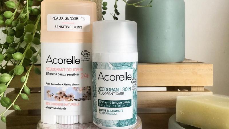 Vente privée Acorelle : soins bio hygiène et beauté