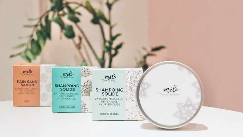 Passez au shampoing solide naturel avec Melo Ayurveda