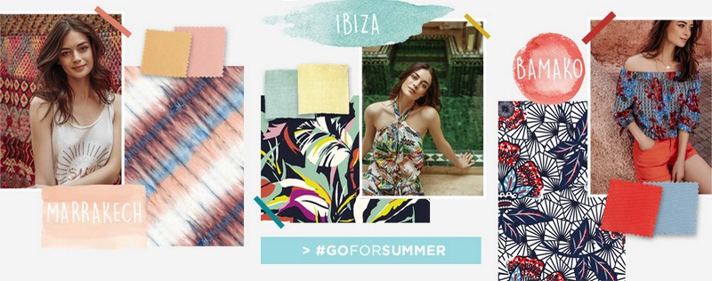 Go for summer chez Promod : collections Marrakech, Ibiza, Bamako