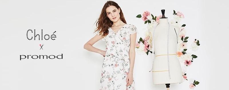 La robe Chloé x Promod