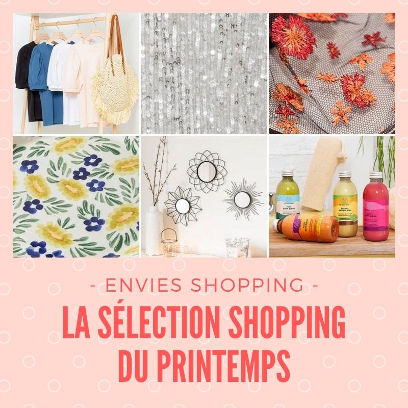 shopping du printemps