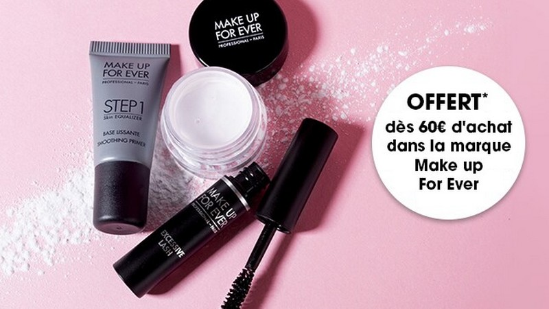 La box Make Up For Ever offerte dès 60 € d'achat
