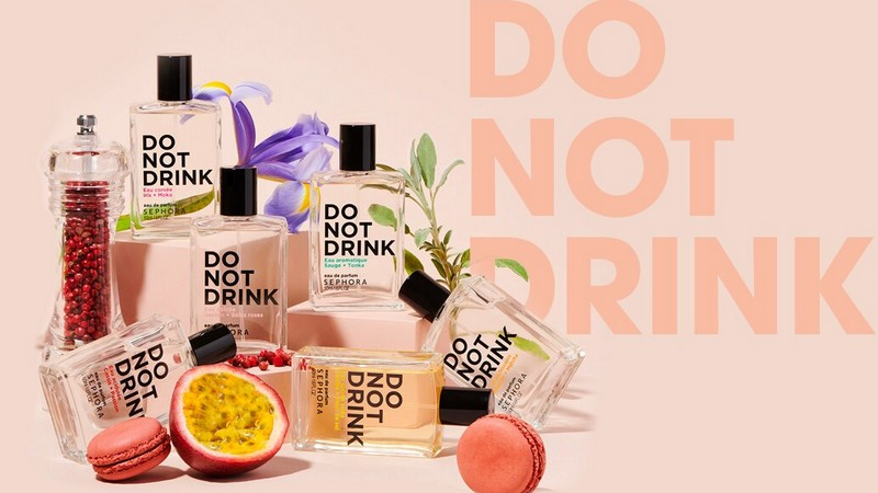 Do not drink : la première collection de parfums Sephora