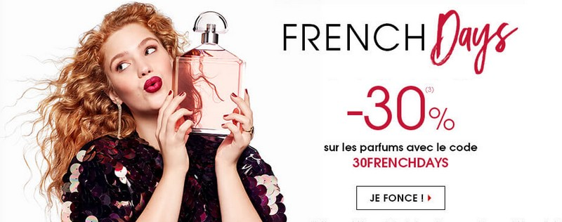 French Days Sephora parfums