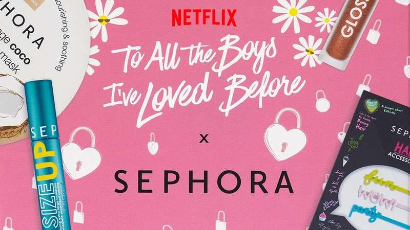 Sephora x Netflix To All The Boys