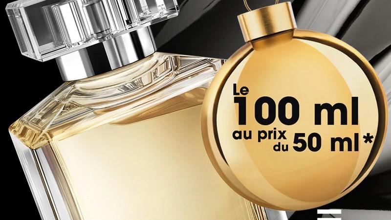 L'offre parfum Sephora : le flacon 100 ml au prix du 50 ml